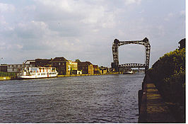 Vredesbrug te Willebroek