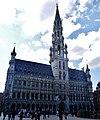 Bruxelles Grand-Place Hôtel de Ville 02.jpg