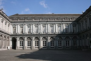Egmont Palace - The cour d'honneur