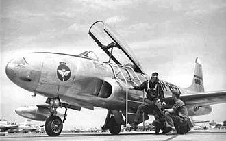 Flying Division, Air Training Command - Postwar T-33A Shooting Star jet fighter training