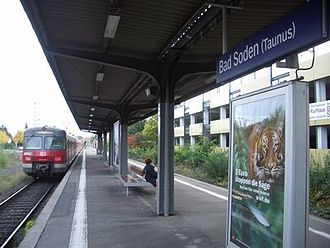 S3 (Rhine-Main S-Bahn) - S3 at its terminal in Bad Soden