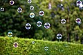 Bubble machine soap bubbles at Staplefield, West Sussex, England 04.jpg