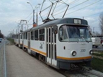 Tatra T4 - T4 in Bucharest