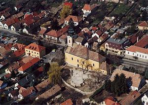 Budakeszi - Aerial view