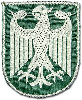 Federal Police (Germany) - Bundesgrenzschutz patch (1952 to 1976)