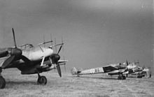 Radar in world war ii wikipedia bf 110g night fighters with the hirschgeweih eight dipole antenna arrays for their sn 2 sets publicscrutiny Image collections