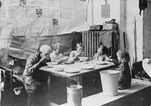 Russlanddeutsche flüchtlinge ca 1920 in schneidemühl großvater