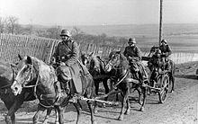 To zdjęcie nie dotyczy kampanii wrześniowej; wskazuje na to zimowe umundurowanie żołnierzy i zimowa sierść koni. Wynika z tego, że zdjęcie pochodzi z wiosny 1940 roku. W dodatku zdjęcie nie przedstawia kawalerii, a artylerię konną.