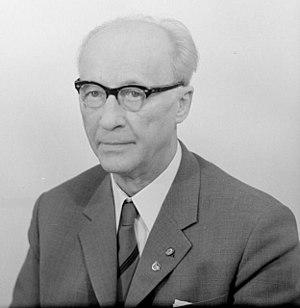 Johannes Dieckmann - Dieckmann in 1967