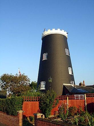 Bungay - Image: Bungay, Flixton Road Mill