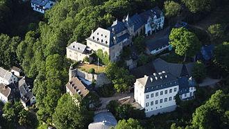 Blankenheim Castle - Blankenheim from the air, 2015