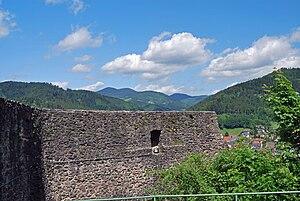 Husen Castle (Hausach) - Image: Burg Hausach 7