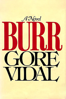 Burr by Gore Vidal - first edition cover.jpg