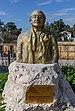 Bust of Bener Hakki Hakeri (1936-2013), North Nicosia, Cyprus.jpg