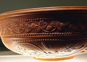 Ancient Roman pottery - Image: Céramique sigillée Metz 100109 2