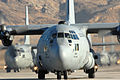 C-130 Cargo aircraft taxi during the Mobility Air Forces Exercise at Nellis AFB.jpg
