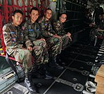 CAP Cadets from the PR068 Squadron, Lajas, Puerto Rico, Board a WC130H at the 156th Airlift Wing.jpg