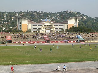 Tanzanian Premier League -  Tanzanian Premier League match between Kagera Sugar and Mbeya City on 17 January 2015.
