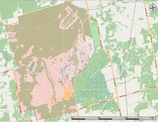 Cfb Borden Map CFB Borden   Wikipedia Cfb Borden Map