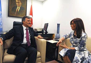 CFK y Abdullah G%C3%BCl