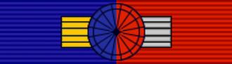 Maxime Verhagen - Image: CHL Order of Bernardo O'Higgins Grand Officer BAR