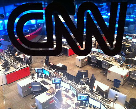 The CNN newsroom CNN Atlanta Newsroom.jpg