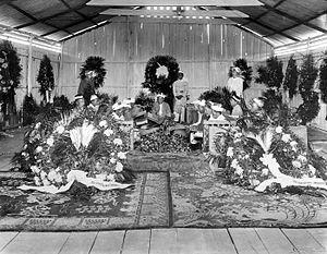 Sultanate of Deli - Sultan Ma'amun Al Rashid Perkasa Alam Shah's funeral
