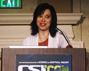 Sharon A. Hill - Image: CSICON 2012 204 How to Think About Weird News 1 Sharon Hill