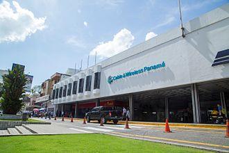 Cable & Wireless Communications - Image: Cable & Wireless Panamá, Casa Matriz, Via España