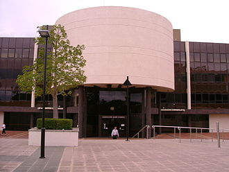 Caboolture, Queensland - Moreton Bay Regional Council chambers