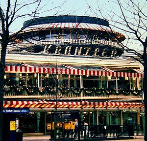 Café Kranzler - Café Kranzler on Kurfürstendamm, 1988