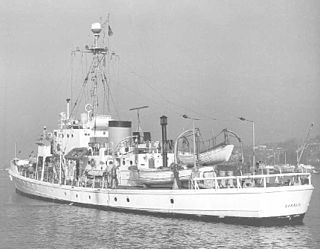 USCGC <i>Cahoone</i> (WSC-131) Active-class patrol boat of the United States Coast Guard, 1927-1968