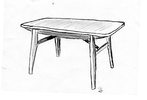 René-Jean Caillette - Image: Caillette meubles 02 table