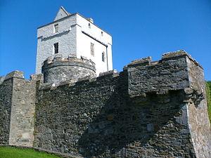 Clan Sweeney - Castle Doe, Barmkin and Keep.