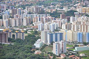 Caldas Novas - Caldas Novas from the air