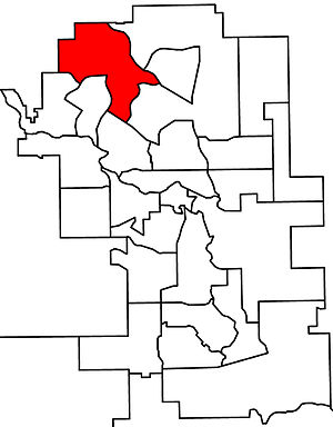 Calgary-Foothills - 2010 boundaries