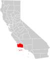 California county map (Santa Barbara County highlighted).svg