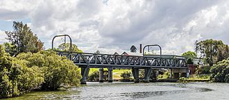 Carlingford railway line - Bridge over the Parramatta River