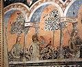 Camera della castellana di vergy, ciclo pittorico, 1350 circa 15,1.JPG