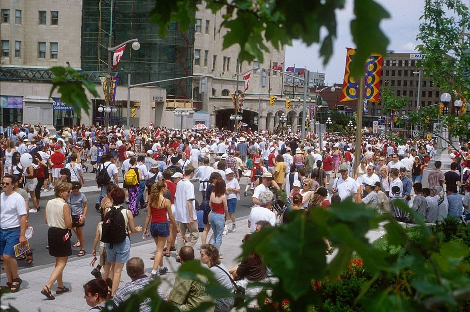 Canada Day 2000 Wellington