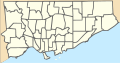 Canada Toronto Wards location map.svg