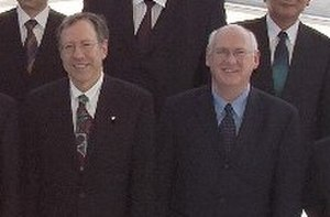 Irwin Cotler - Irwin Cotler (left) (May 11, 2004, Washington, D.C.)