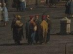 Canaletto, il molo verso la riva degli schiavoni con la colonna di san marco, détail.jpg