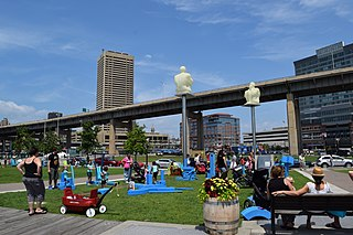 Canalside Neighborhood of Buffalo in Erie County, New York, United States