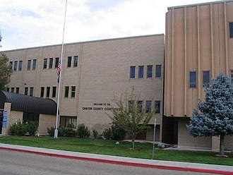 Canyon County, Idaho - Image: Canyon County Courthouse, Caldwell, Idaho (264659433)