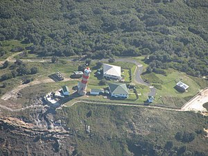 Cape Moreton - An aerial view of the lightstation