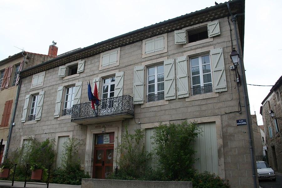 Capestang (Hérault) - mairie.