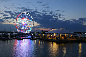 Capital Wheel - Capital Wheel has 1.6 million LED lights