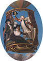 Captain Vincenzo Lunardi with his Assistant George Biggin, and Mrs. Letitia Anne Sage, in a Balloon, by John Francis Rigaud (1742-1810).jpg