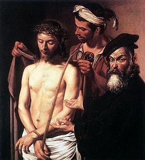 1605 in art - Image: Caravaggio Ecce Homo